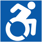 Assessibility Icon, credit www.accessibleicon.org
