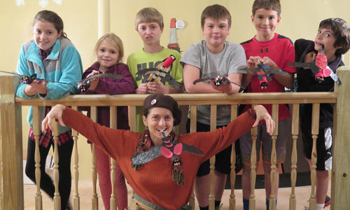 Creativity Brings Bat Puppets to Roost in BSCC