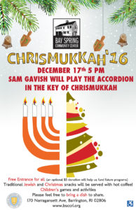 Chrismukkah 2016 @ Bay Spring Community Center