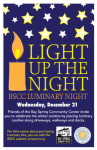 Light Up the Night - BSCC Luminary Night
