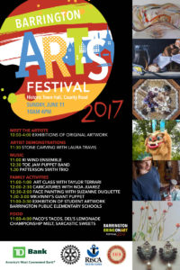 3rd Annual Barrington Arts Festival @ Barrington Town Hall