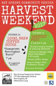 Harvest Fest 2017 @ Bay Spring Community Center | Barrington | Rhode Island | United States