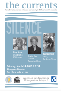 The Currents: Silence @ Bay Spring Community Center | Barrington | Rhode Island | United States