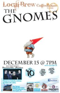 Local Brew Coffeehouse with The Gnomes @ Bay Spring Community Center | Barrington | Rhode Island | United States