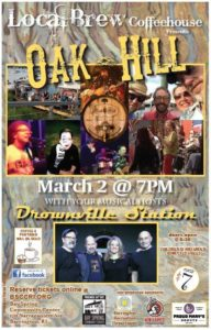 Postponed: Local Brew with Oak Hill @ Bay Spring Community Center