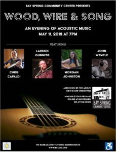 Wood, Wire & Song: A Night of Acoustic Music @ Bay Spring Community Center